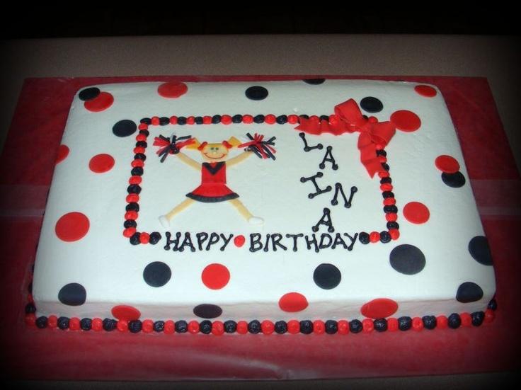 Cheerleading+Cakes+By+Hackl