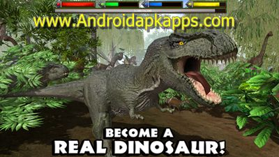 Download Ultimate Dinosaur Simulator Apk MOD 1.0.5 Full OBB Data - Androidapkapps.com - Download Ultimate Dinosaur Simulator Apk MOD 1.0.5 Full OBB Data  Androidapkapps-Discover a long lost prehistoric world and rule over it as an all mighty
