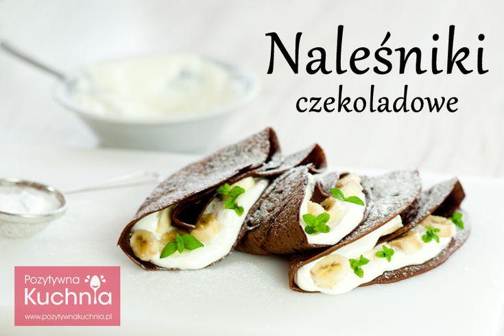 Naleśniki nietypowe, bo czekoladowe. Pięknie pachnące, zwłaszcza podczas smażenia :).