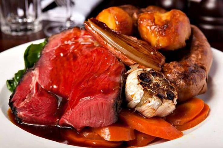 Hawksmoor Sunday Roast - all the trimmings £20