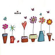 Dieren+/+Botanisch+/+Cartoon+/+Stilleven+/+Mode+/+Bloemen+/+Vrije+tijd+Wall+Stickers+Vliegtuig+Muurstickers,PVC+60*45*0.1+–+EUR+€+6.52