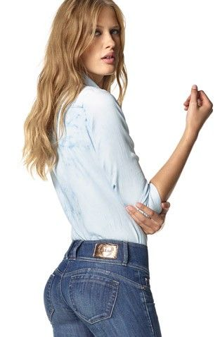 A revolutionary fit that can be used with or without the pads, it is the greatest product innovation! #salsajeans #denim #mysteryjeans