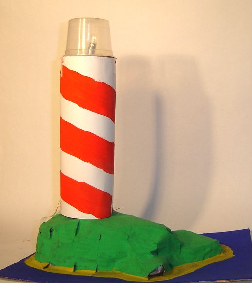 Learn How To Make A Lighthouse And An Electric Circuit At