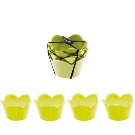 Roztomilé misky v zeleném provedení na různé dipy či malé saláty či dezerty od Zak!designs.