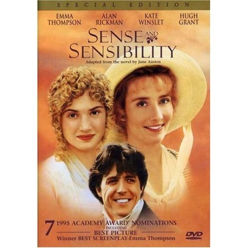 Sense & Sensibility ~ Emma Thompson, Kate Winslet  and Hugh Grant.