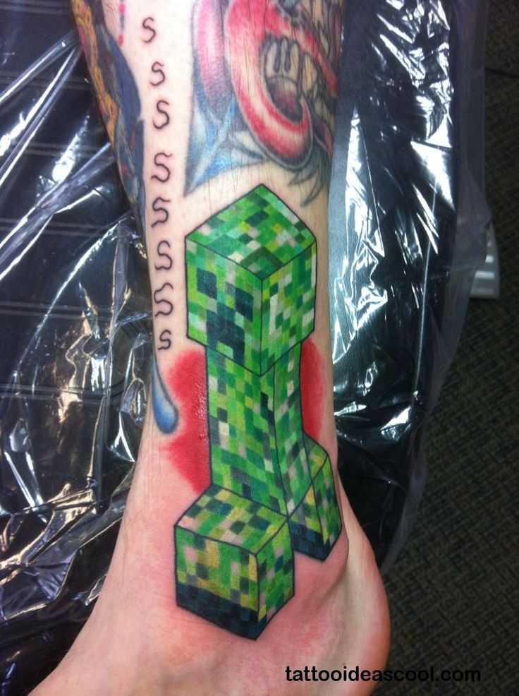 17 Best ideas about Minecraft Tattoo - 120.1KB