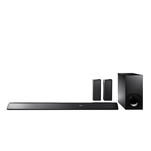 Introducing Sony HTRT5 Soundbar with 2 Wireless Rear Speakers 550 W SMaster HX Clear Audio Plus Dolby TrueHD DTSHD Bluetooth WiFi and NFC. Great product and follow us for more updates!