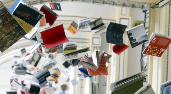 Páginas en suspensión Ignacio Díaz de Rábago Biblioteca de Babel CBA