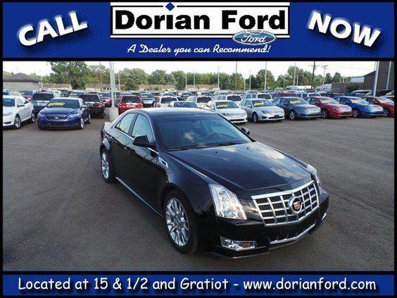 2013 Cadillac CTS Sedan at Dorian Ford & 7 best We have an abundance of Used Cars! images on Pinterest markmcfarlin.com