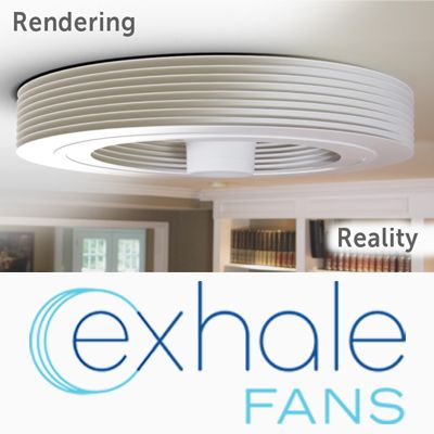 exhale bladeless ceiling fan india fans our rendering reality price in