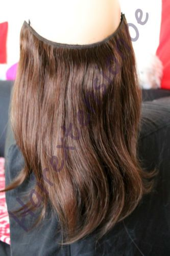 Halo Invisible Wire Hair Extensions 91