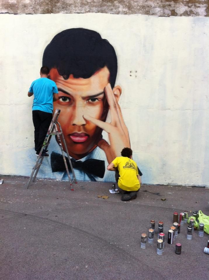 Artist Mako et Diips...Portrait Stromae