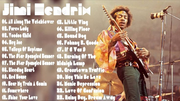 Jimi Hendrix Greatest Hits | Jimi Hendrix Collection | Guitar Solos (MP3...