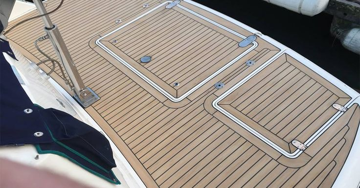 Low cost boat deck flooring synthetic teak flooring for Low price decking