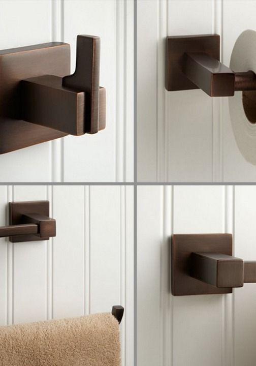 Die besten 25+ Bronze bathroom accessories Ideen auf Pinterest - badezimmer zubeh r set