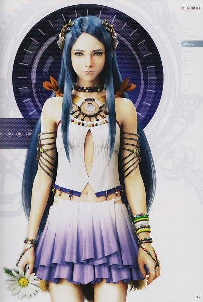 Final Fantasy XIII-2 - The game is great, but Yeul is heartbreaking, I want to change her fate.