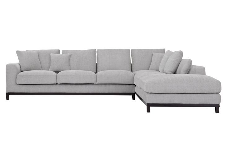 Kellan Sectional Sofa with Right Chaise, Light Gray - Sectionals - Sofas - Capsule