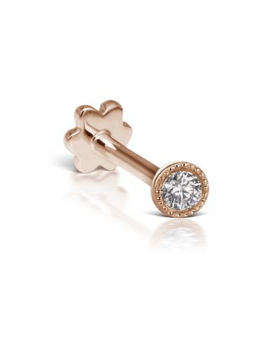 Scalloped Set Diamond