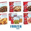Atkins Frozen Meals, Chocolate Peanut Butter Bars, Variety Lot 14 ct