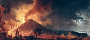 The Eruption of Mount Vesuvius in 1771  Pierre-Jacques Volaire