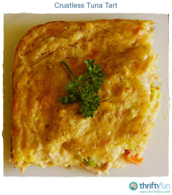 A healthy crustless tuna bake that makes for easy entertaining during the summer months.