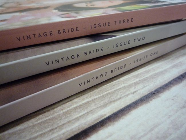 Vintage Bride Magazine - Vintage Wedding Magazine