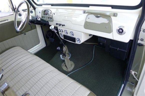 More Iconic: 1967 Toyota Land Cruiser FJ45... Fully restored interior :-)