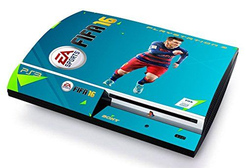 FIFA 16 LIONEL MESSI Skin Cover PS3 FAT HD limited edition DECAL COVER ADESIVA STICKER Playstation 3