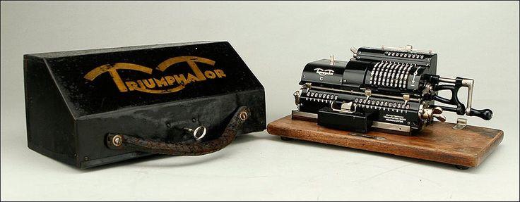 Calculadora Mecánica Triumphator C