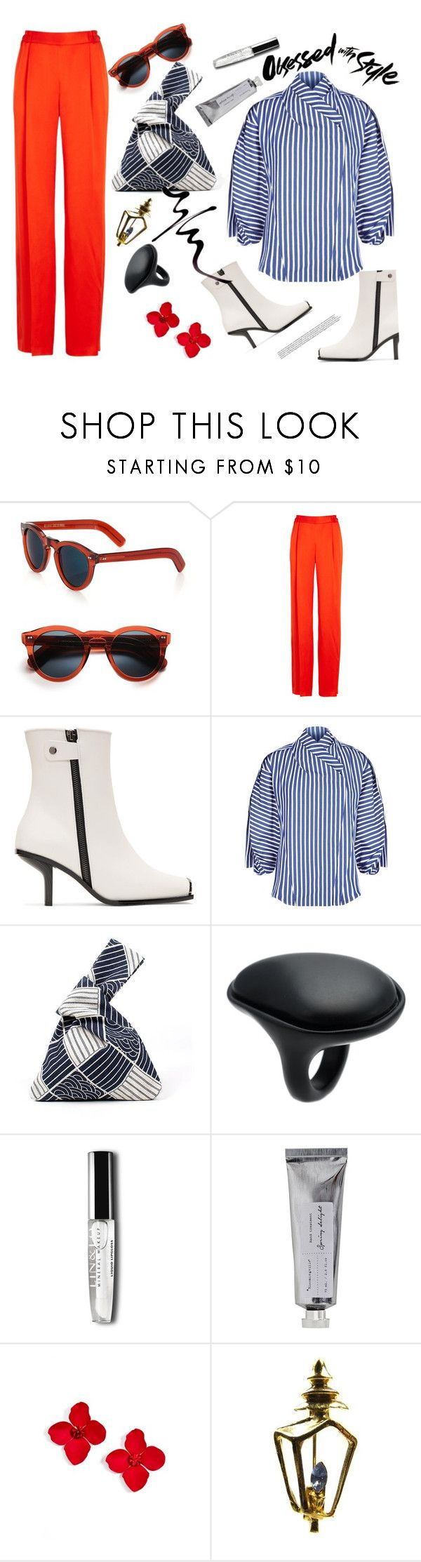 """""""endless options"""" by gabrielleleroy ❤ liked on Polyvore featuring Cutler and Gross, STELLA McCARTNEY, A.W.A.K.E., Uma 