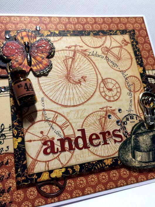 Birthday card för Anders.  - by Zildara