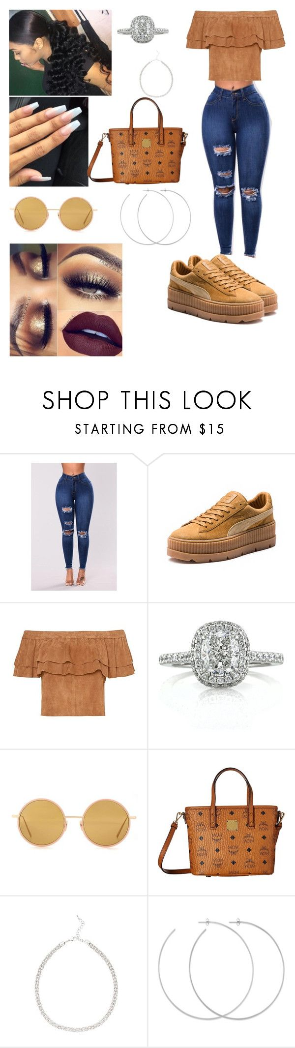 """"" by takiyuaaa ❤ liked on Polyvore featuring Puma, Mark Broumand, Acne Studios, MCM and Allison Bryan"