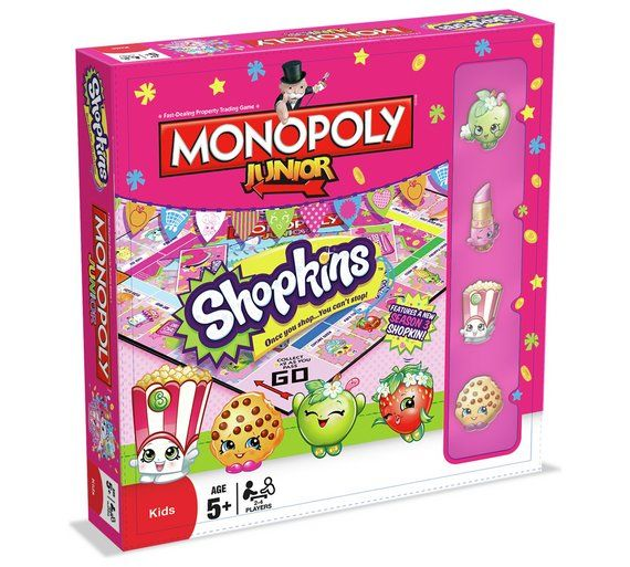 Buy Shopkins Monopoly Junior Board Game at Argos.co.uk, visit Argos.co.uk to shop online for Board games, Board games, jigsaws and puzzles, Toys