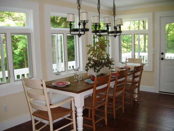 Dining Room Additions  Dining Room And Sunroom Addition  Decks Glamorous Dining Room Addition Decorating Design
