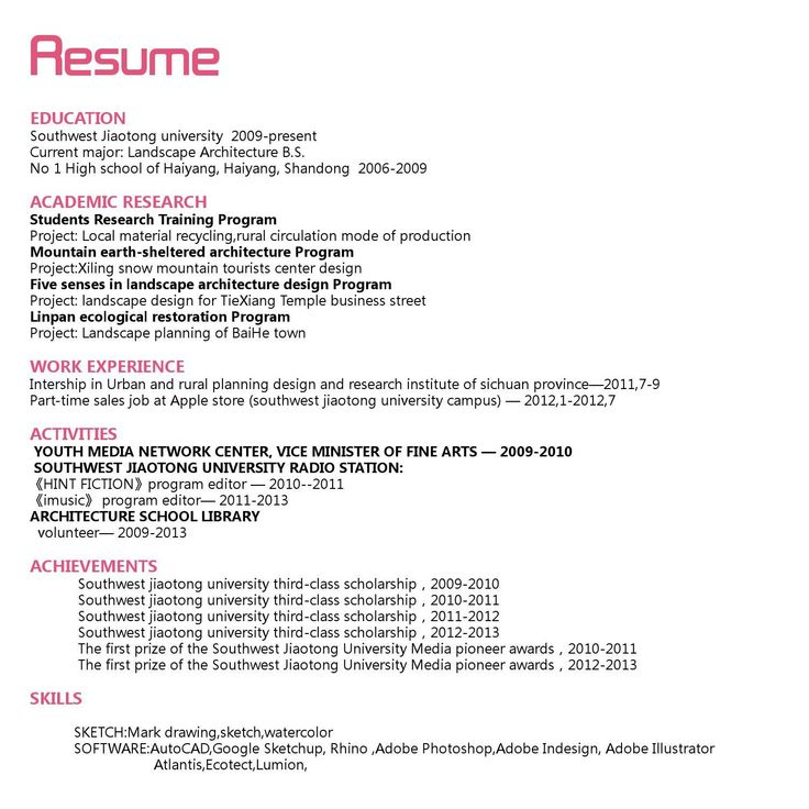 9 best cv images on Pinterest Website, Journaling file system and