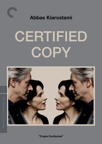 The best movie I saw last year, Kiarostami's Certified Copy, is getting its well-deserved due from @CriterionCollection. Hooray!