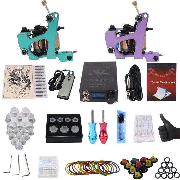 Professional Tattoo Machine Kit Set Full Set Of Diy Tattoo Equipment Body Paint