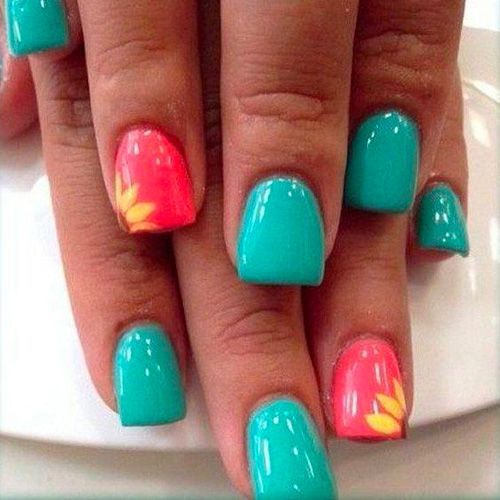 Best Spring Nails – 44 Best Spring Nail Designs for 2020 – NailFavorites.com – Best Spring Nails – 44 Best Spring Nail …