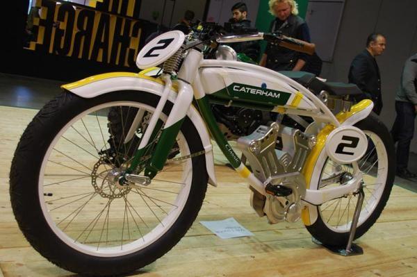 Caterham Classic E-Bike, Retro Klasik - Vivaoto.com - Majalah Otomotif Online