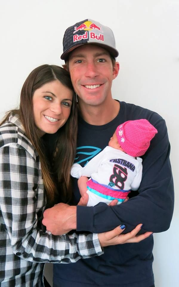 Lyn-Z and Travis Pastrana's baby girl <3