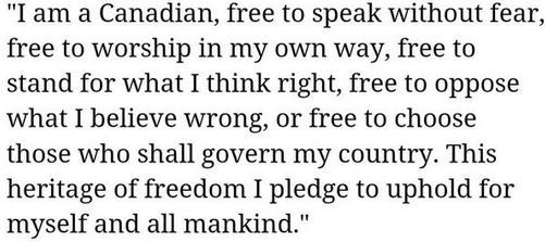 Quote from John Diefenbaker, Canada's 13th Prime Minister.