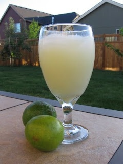 Brazilian Lemonade made with a touch of condensed milk. Fab! From Lulu ...