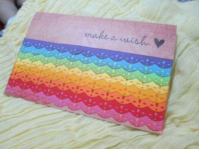 Un arcobaleno di auguri