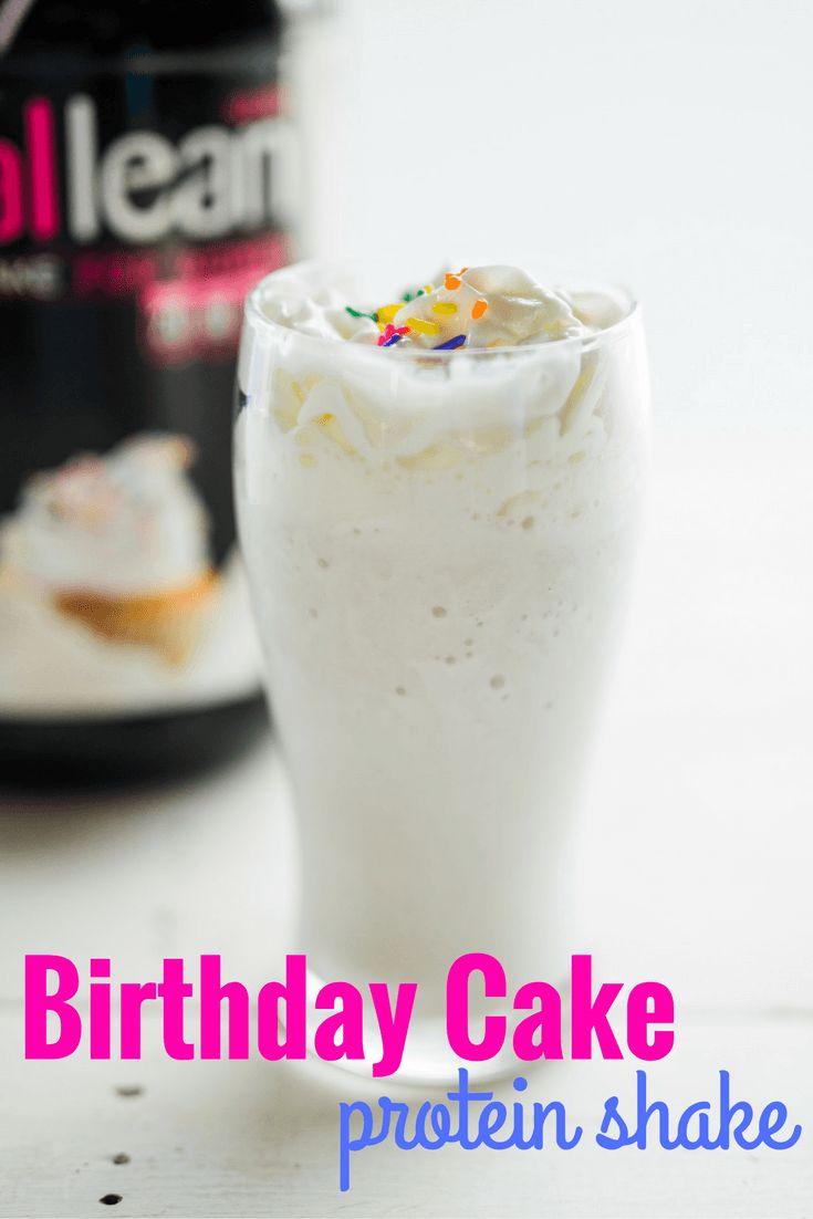 Best 25 Birthday Cake Milkshake Ideas On Pinterest