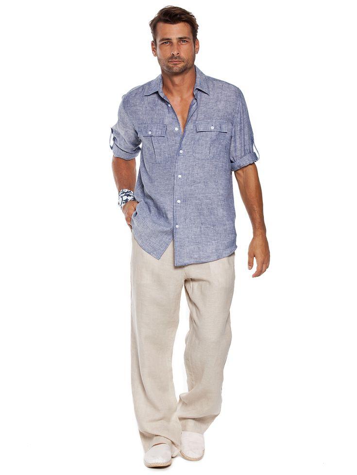 1000+ ideas about Mens Linen Shirts on Pinterest ...