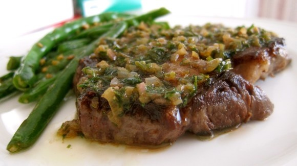 Spicy Green Chile Chicken Soup | Rib Eye Steak, Green Beans and Ribs