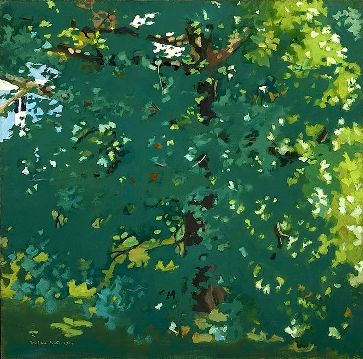 The Plane Tree, 1964 - Fairfield Porter                                                                                                                                                                                 More