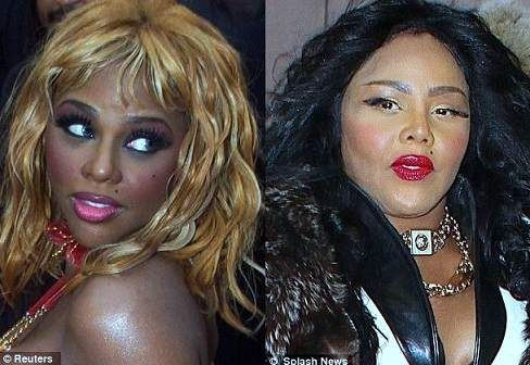 Lil' Kim Plastic Surgery Before And After Photos