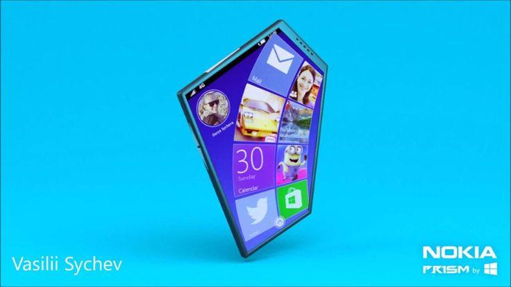 Nokia Prism Concept phone - Leaked
