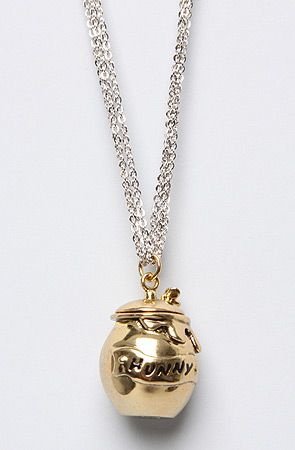 Disney Couture Jewelry The Pooh Collection Honey Jar Necklace